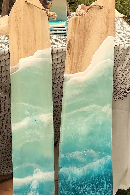 Sea Foam Hanging Drift Wood