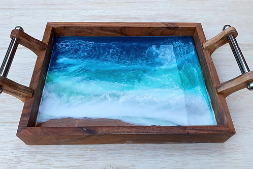 Large Ocean Serving Tray