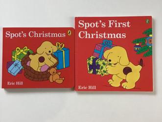 クリスマスの絵本2と1月のイベント