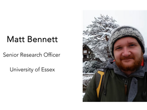 Episode 18- Matthew Bennett - Public Trust and Expertise during the Pandemic