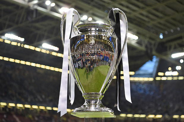 Champions League trophy. [Getty]