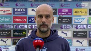 Pep Guardiola of Man City.