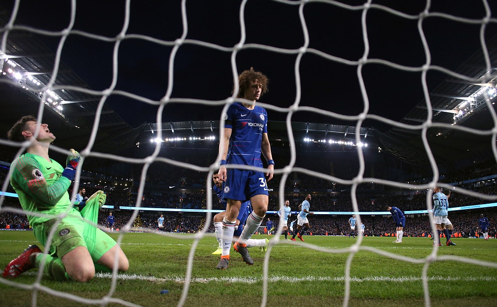 City handed Chelsea their heaviest defeat in almost 28 years. (Martin Rickett/PA)