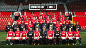 Photo: Manchester United's official 2014/15 squad picture.