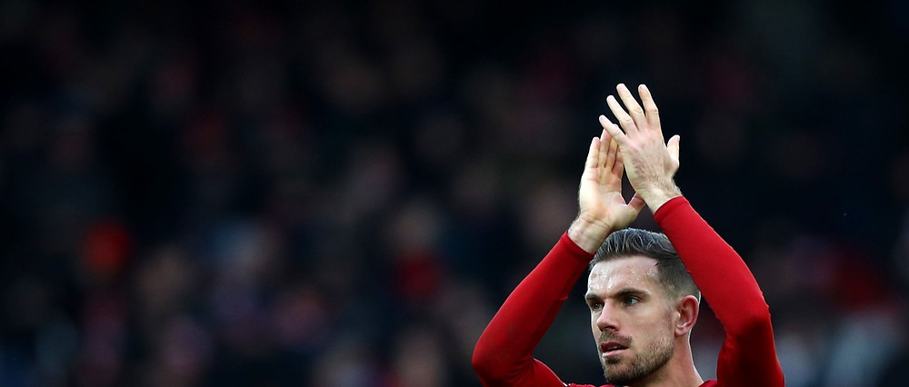 Henderson was delighted with Liverpool's 7-0 win against Palace. [Getty]
