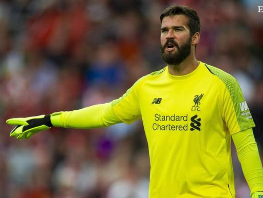 """Alisson wants to become the """"perfect"""" goalkeeper."""