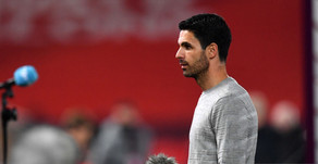 "Arsenal boss Mikel Arteta: ""We have a long way to go."""