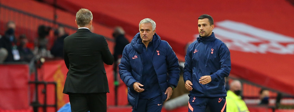 Jose Mourinho's Spurs seal 6-1 win over Man Utd. [Getty]