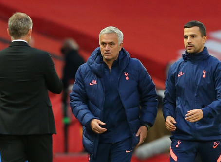 """Mourinho: We were """"tactically"""" and """"psychologically"""" ready for Man Utd."""