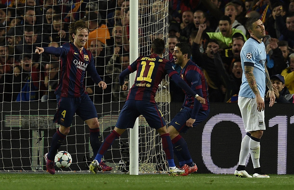Rakitic's goal secured the win for Luis Enrique's side.