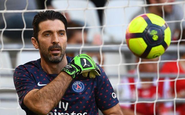 Gianluigi Buffon. [AFP/GETTY]