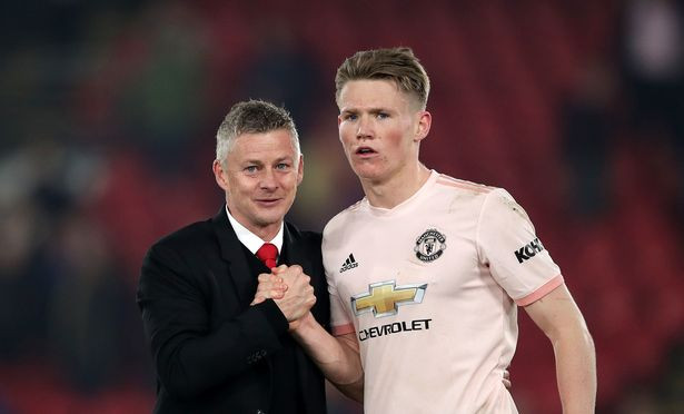 Scott McTominay has made 27 appearances in all competitions this season. [Getty]