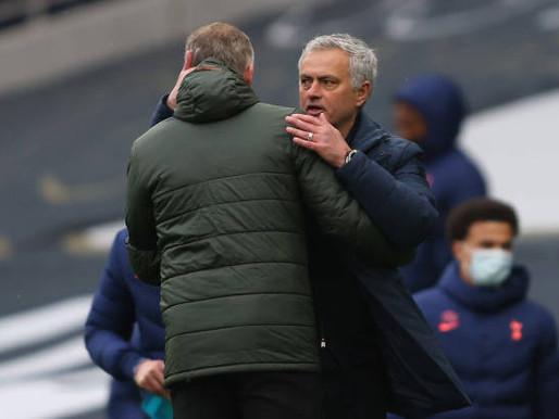 Spurs boss Mourinho: 'We lost against a very good team.'