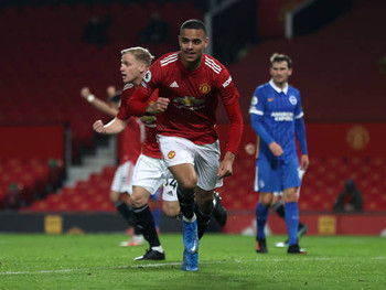"""Man Utd's Mason Greenwood: """"We played well, defended well."""""""