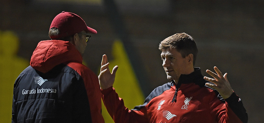 Gerrard made 504 appearances for Liverpool, scoring 120 goals in 17 seasons. [Getty]