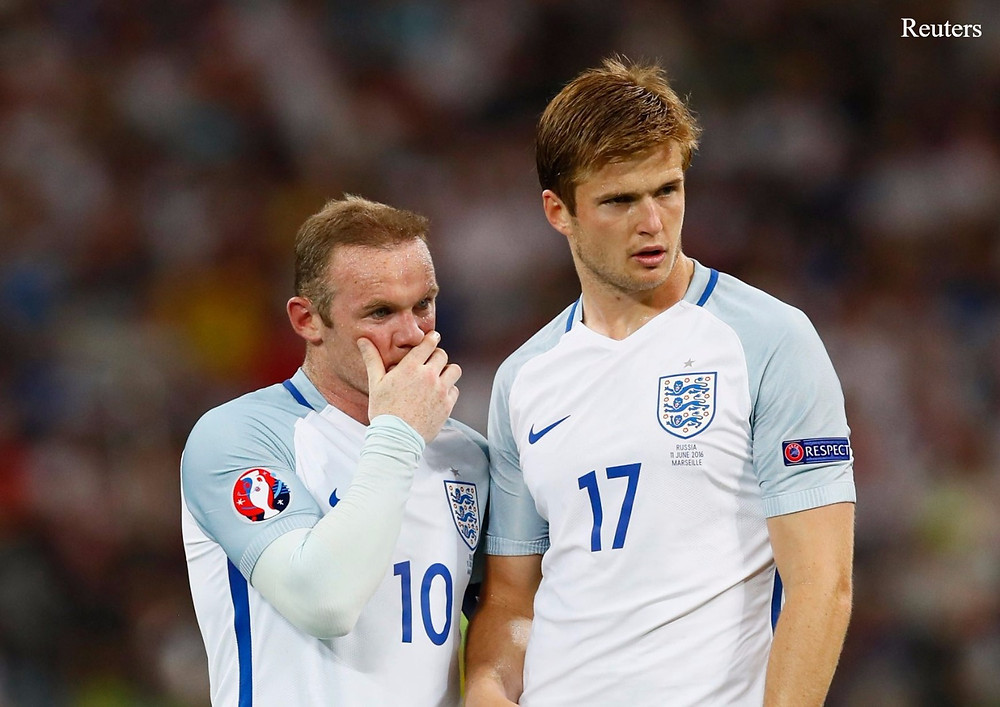 Rooney and Eric Dier