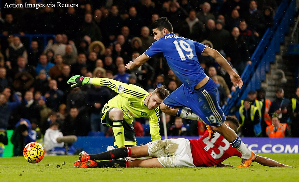 Costa scores for Chelsea