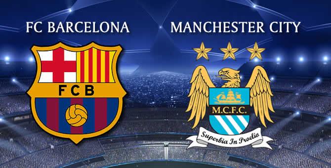 Barcelona v Man City.