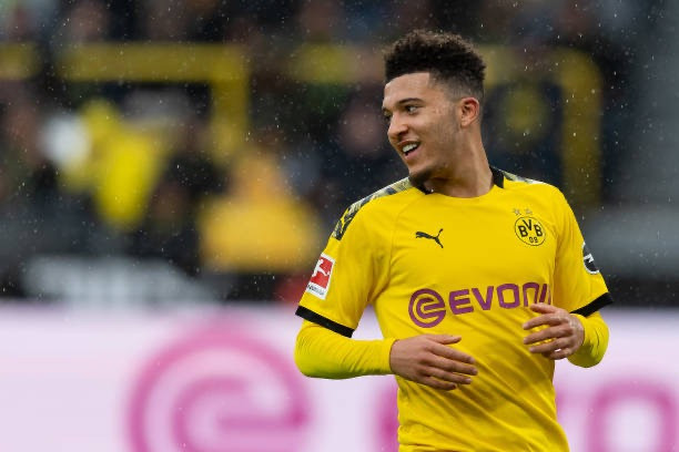 Jadon Sancho has been linked with a move away from Bundesliga club Dortmund. [Getty]