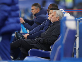 Spurs manager Mourinho: 'We create instability with our mistakes.'