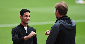 "Arsenal manager Arteta: ""We know the standards that Liverpool have set in this league."""