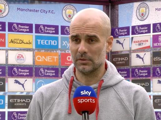 Man City might not sign a striker.
