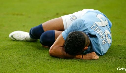 Guardiola in the dark over Mahrez injury.