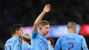 Ex-Man City star hails best midfielder in the world De Bruyne.