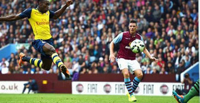 Welbeck pleased to score his first goal for Arsenal.