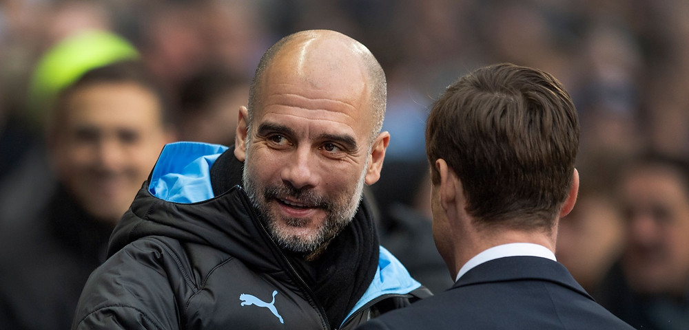 I will be here, no matter what happens - Pep Guardiola. [Getty Images]