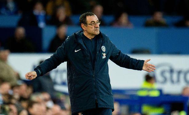 Sarri is under immense pressure as Chelsea boss. (Image: PETER POWELL/EPA-EFE/REX)