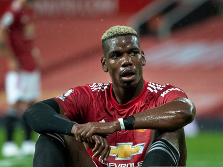 Man Utd midfielder Pogba: 'We have to be bad losers.'