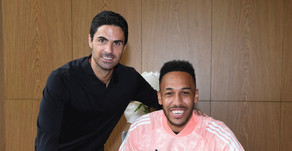Pierre-Emerick Aubameyang ends speculation over his future at Arsenal.