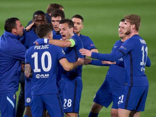 César Azpilicueta pleased with Chelsea's display against Real Madrid.