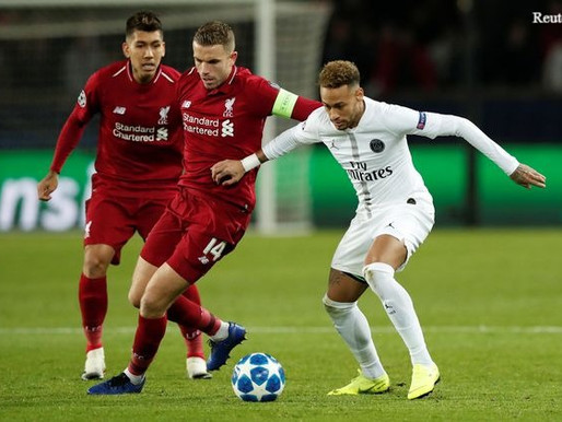 Jordan Henderson remains positive following Liverpool's defeat to PSG.