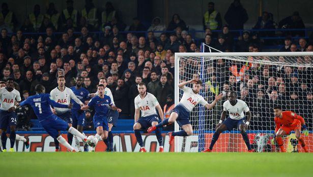 Kante scores. [Reuters]