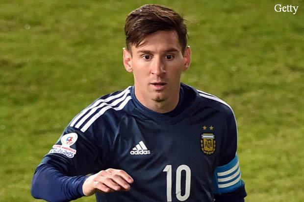 Six-time winner Lionel Messi