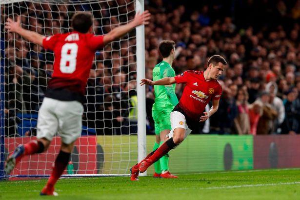 Herrera celebrates his goal (AFP/Getty Images)