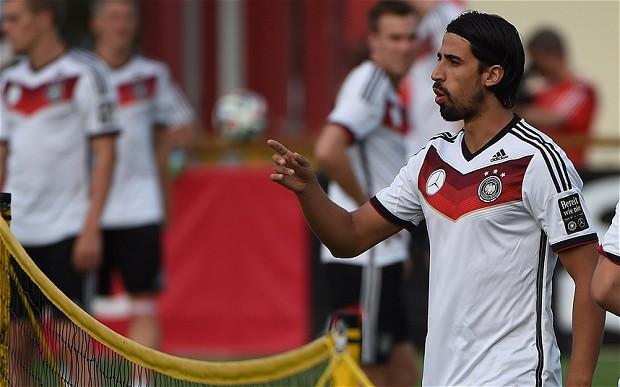 Germany international World Cup winner Khedira [Getty]