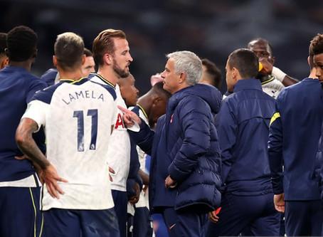 Spurs to sign a new striker - Jose Mourinho.
