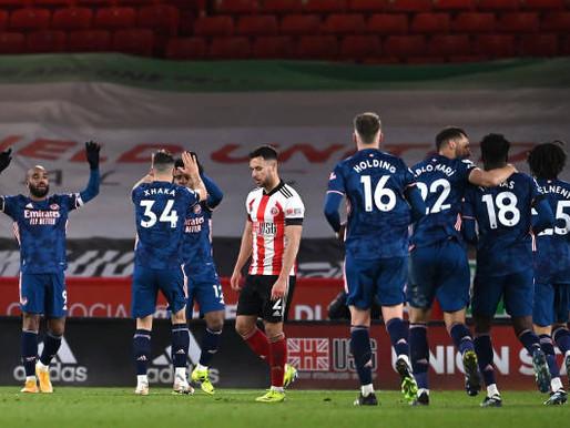 Arsenal boss Arteta hails 'really strong performance' against Sheffield United.