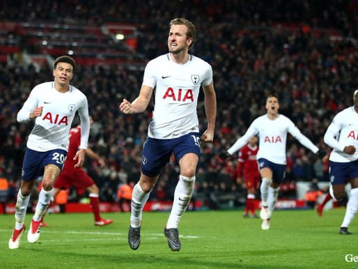 Tottenham's Kane is after a fourth Golden Boot.