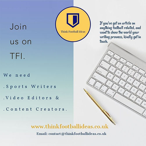 Join the TFI Team.