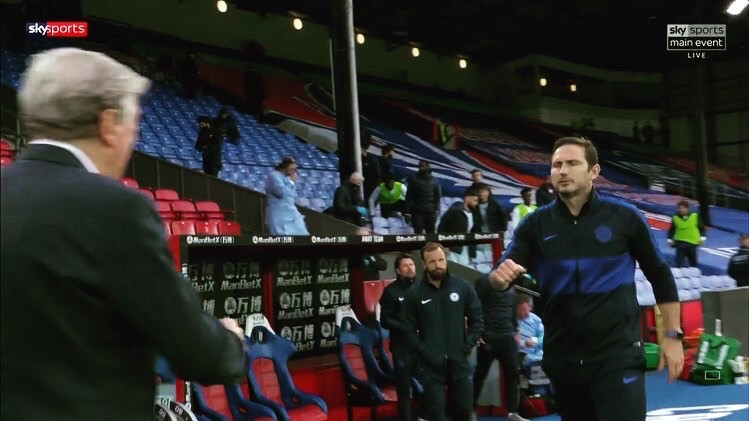 The Blues boss Lampard says they were lucky to run away with at Selhurst Park