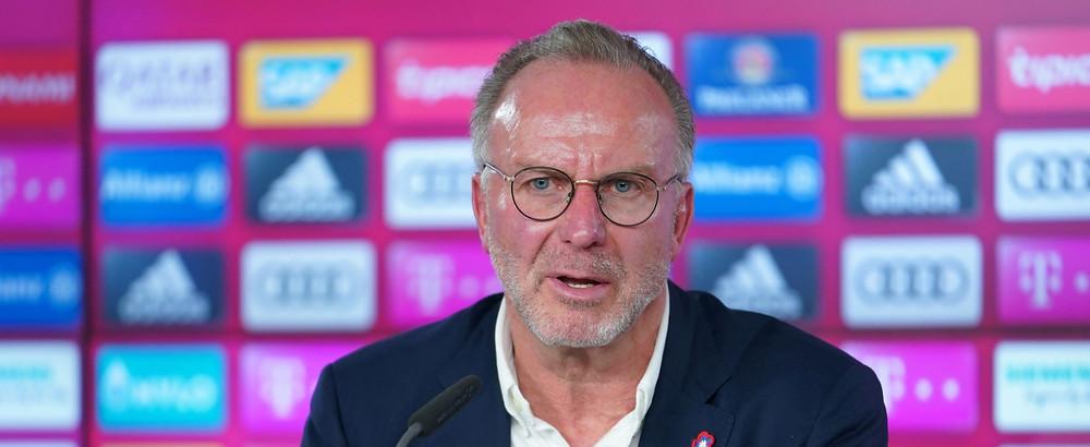 Karl-Heinz Rummenigge, CEO of FC Bayern Muenchen [Getty].