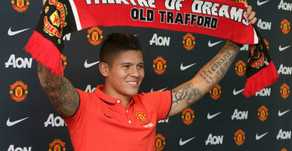 Manchester United sign Marcos Rojo.