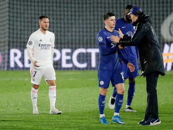 Chelsea boss Thomas Tuchel 'We have to live with 1-1'.