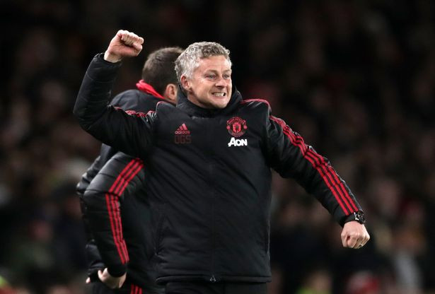 Solskjaer has now won eight from eight as United boss (Image: PA)