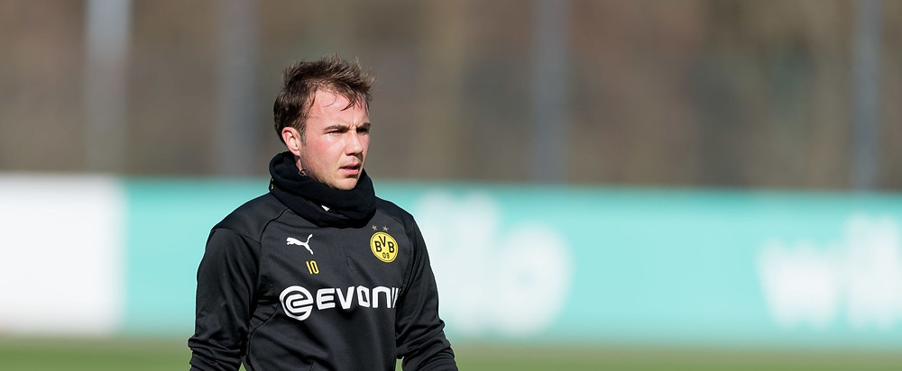 Gotze's contract at Signal Iduna Park ends in June and is available for clubs on a free transfers. [Getty]