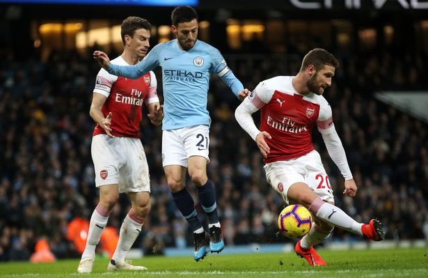 Arsenal's Shkodran Mustafi in action. [Image: PA]